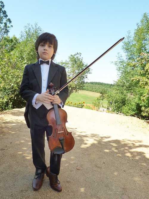 Concert de MANOË - Violoniste 0